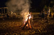 Teens will enjoy a worship and bonfire session during the weekend.