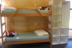 Cabins are comfortable and spacious with ample storage.